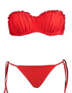 Bikini fascia Greta con brasiliana fiocchi Atene